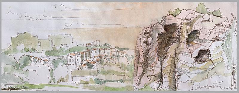 Randonnées graphiques en Provence au printemps2016