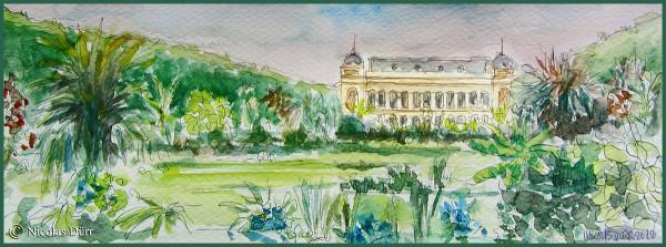 Randonnée graphique à la ménagerie du Jardin des Plantes en juin2012