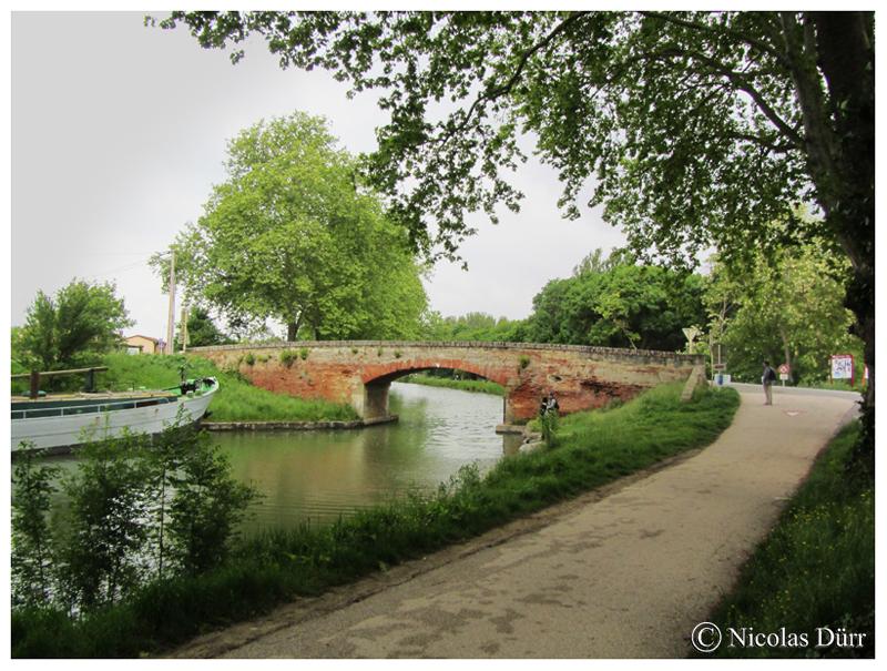 Le Canal du Midi : arrêt sur images du côté du pont Mange Pommes en juin2015