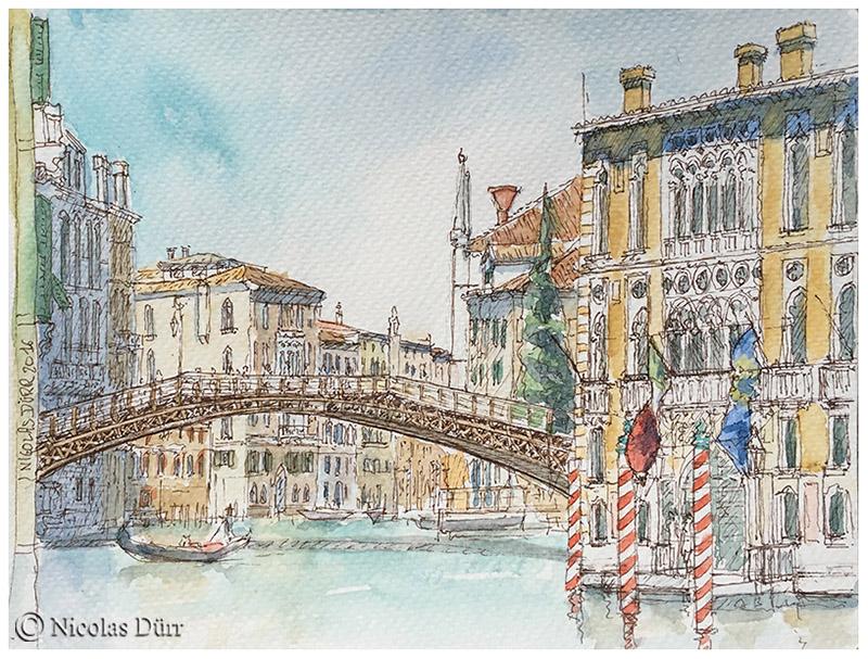 Randonnées graphiques sur Venise en 2015 et2016
