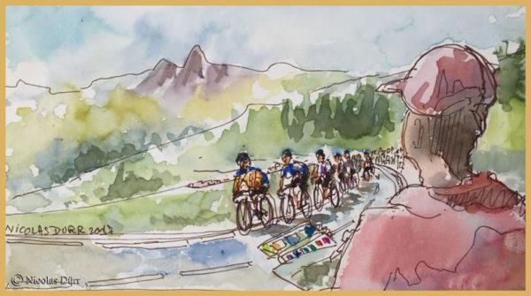 Le jour ou le Tour de France est passé sous mon balcon, juillet2017