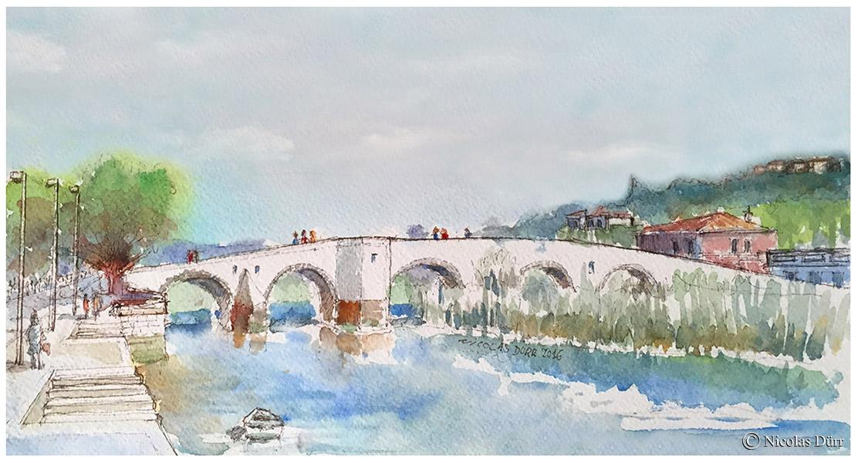 Toulouse du temps des Romains (selon l'état des connaissances en2017)