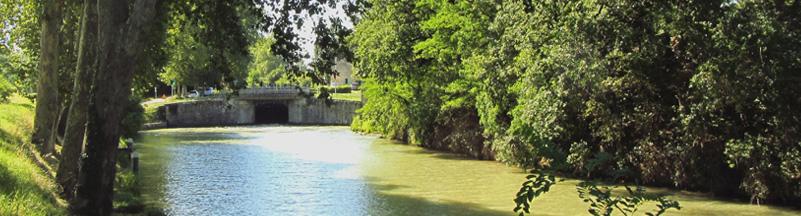 Le Canal du Midi (1/4/30), de Toulouse à Carcassonne (2012) (4/9) : de l'écluse de Négra au Seuil deNaurouze