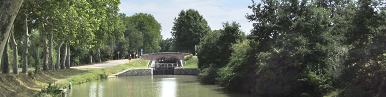 Le Canal du Midi (1/3/30), de Toulouse à Carcassonne (2012) (3/9) : de l'écluse de Castanet à l'écluse deNégra