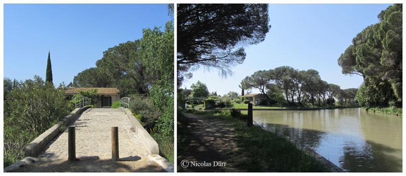 Le Canal du Midi (22/33), de la jonction à Béziers (2012) (1/5) : du Canal de Jonction au pont dePigasse