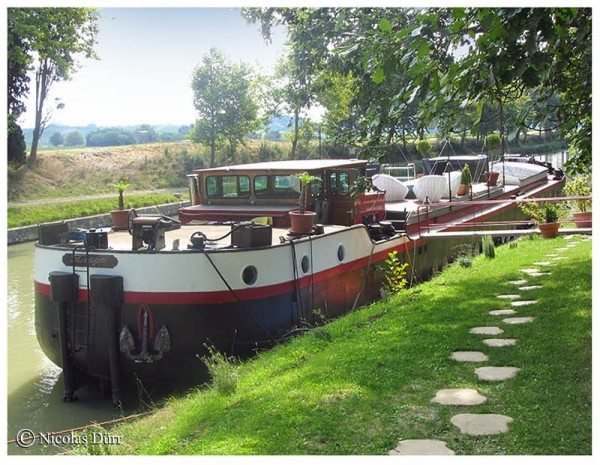 Le Canal du Midi (1/8/30), de Toulouse à Carcassonne (2012) (8/9) : de l'écluse de Béteille à l'écluse d'Herminis