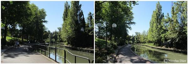 Le Canal du Midi (20/33), le Canal de la Robine (2012-2014) (3/4) : de la sortie de Narbonne à l'écluse deMandirac