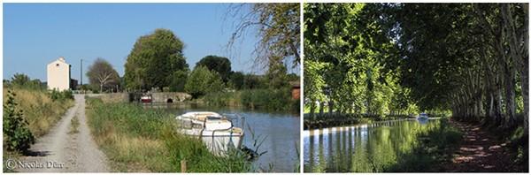 Le Canal du Midi (15/33), de Carcassonne à la jonction (2012) (6/7) : de l'écluse d'Argens auSomail