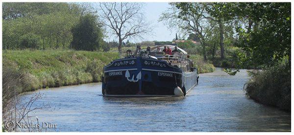 Le Canal du Midi (26/33), de la jonction à Béziers (2012) (5/5) : de Colombiers àBéziers