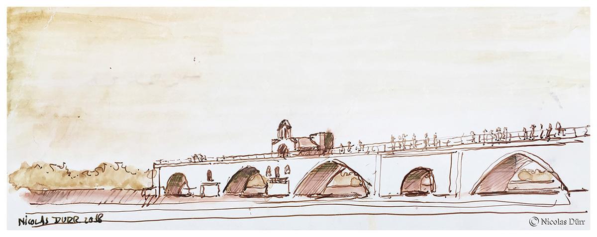 Le pont d'Avignon, tel qu'il est, tel qu'il fut, et le Palais desPapes