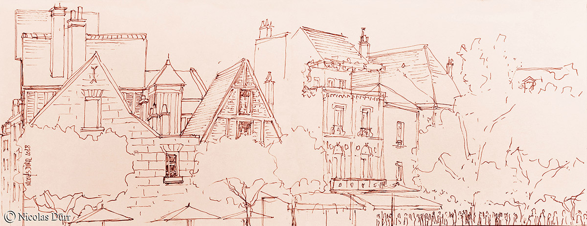 Rencontre urban sketchers sur Tours les 2 et 3 juin2018