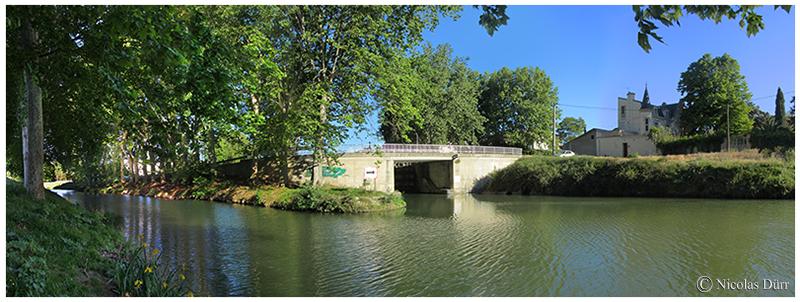 Le Canal du Midi (29/33), sur Béziers (2012-2017) (3/3) par le tracé neuf (depuis1856)
