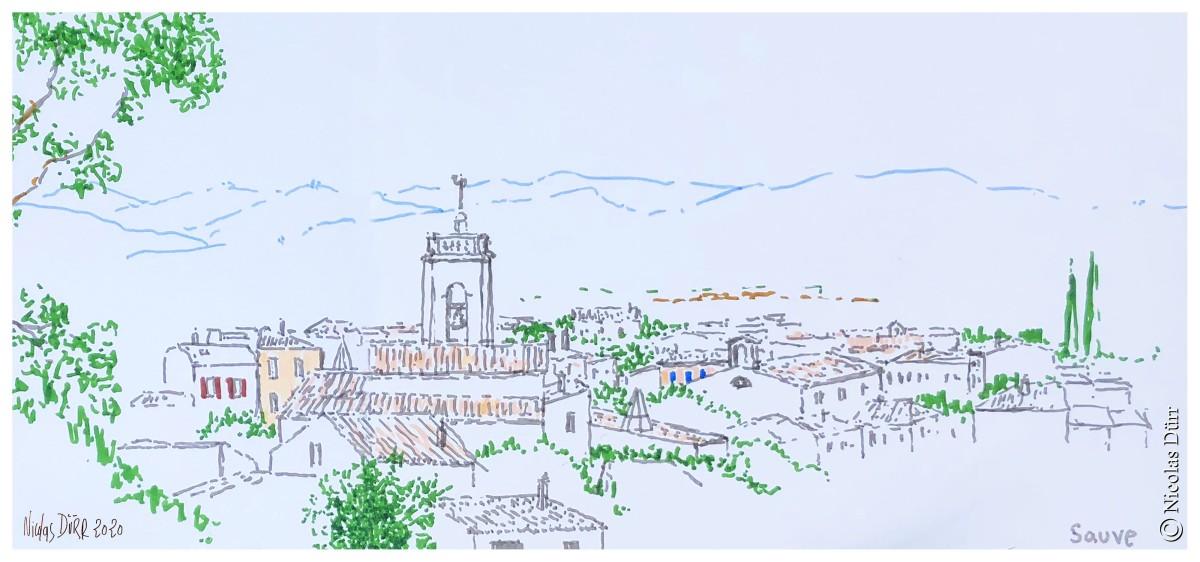 Sauve inspire (Gard), printemps et été2021
