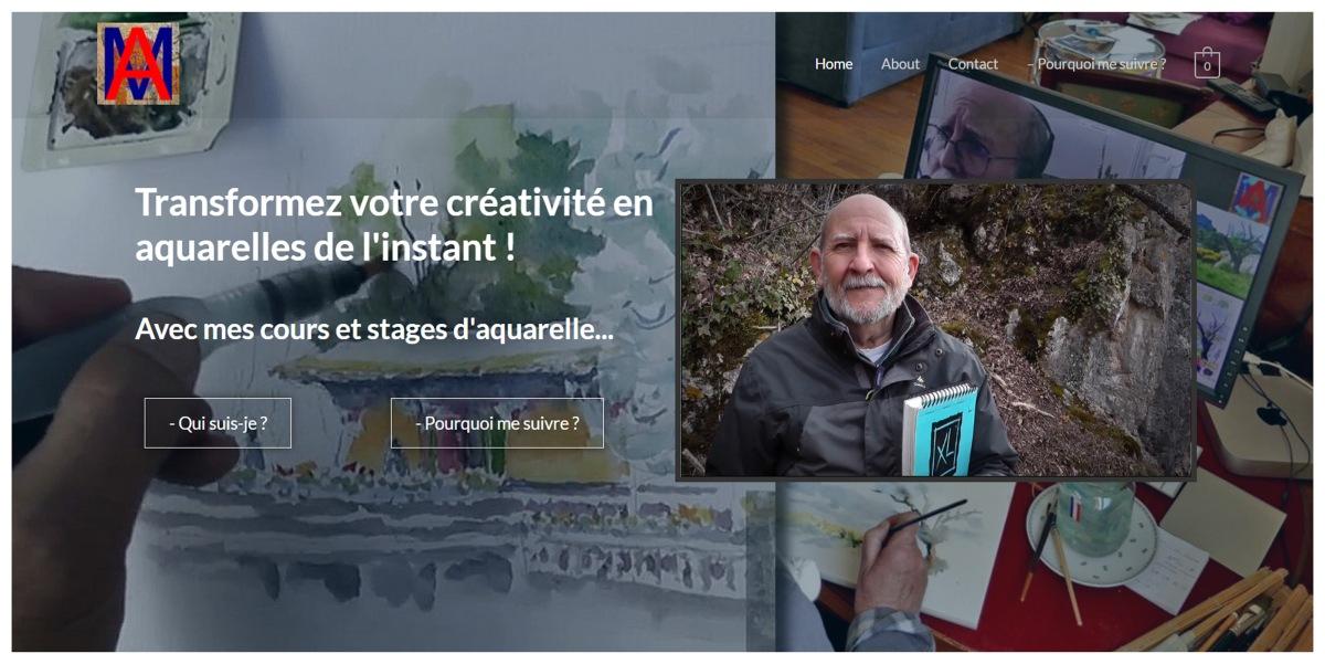 Transformez votre créativité en aquarelle de l'instant, par AlainMarc