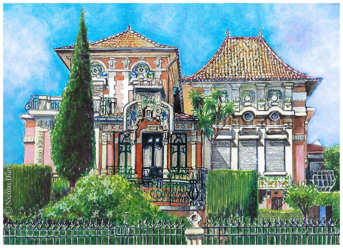La villa Etelvina,2020