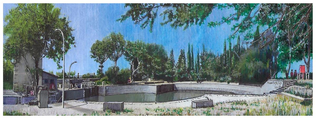 Le Canal du Midi de Béziers à Marseillan (7/10) : L'écluse ronde d'Agde… et bien plusencore